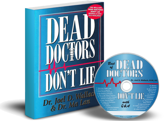 Dr Wallach Dead Doctors Don't Lie Book CD